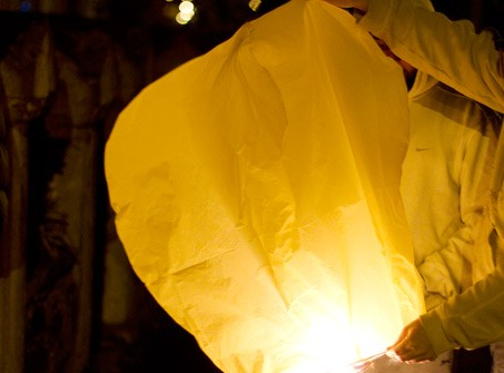 Sky Lantern Yellow