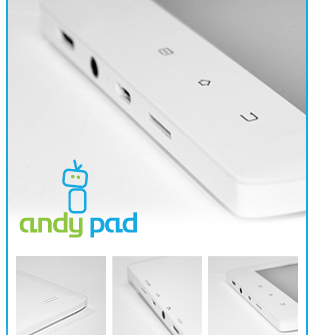 Andy Pad teaser pics
