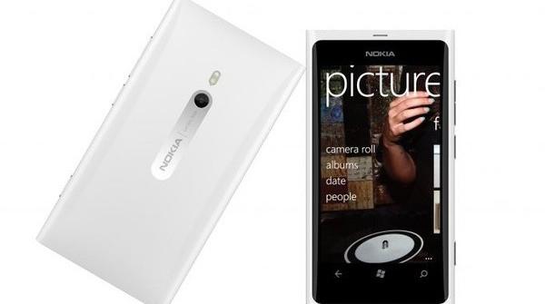 White Lumia 900